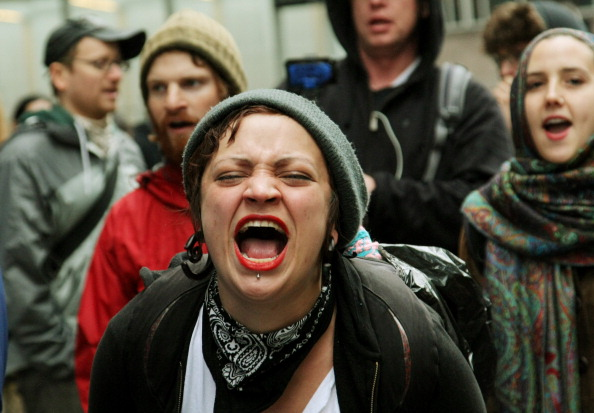 Politics「Occupy Wall Street Movement Joins With Activists Group For May Day Demonstrations」:写真・画像(3)[壁紙.com]