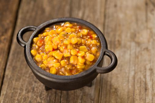 Cast Iron「Spicy Corn Salsa」:スマホ壁紙(4)