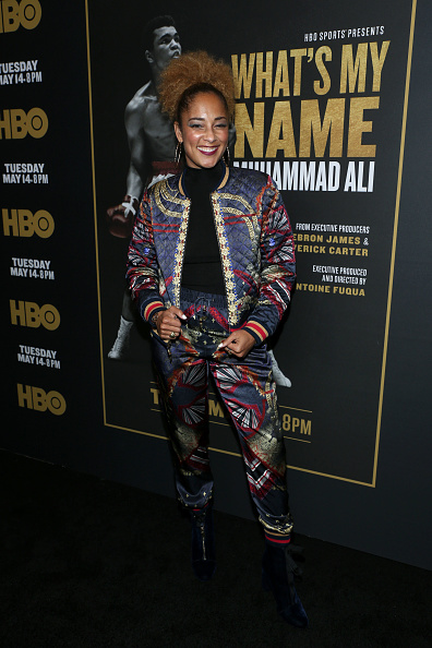 "Fully Unbuttoned「Premiere Of HBO's ""What's My Name: Muhammad Ali"" - Red Carpet」:写真・画像(12)[壁紙.com]"