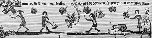 Circa 14th Century「Children Catching Butterflies」:写真・画像(9)[壁紙.com]