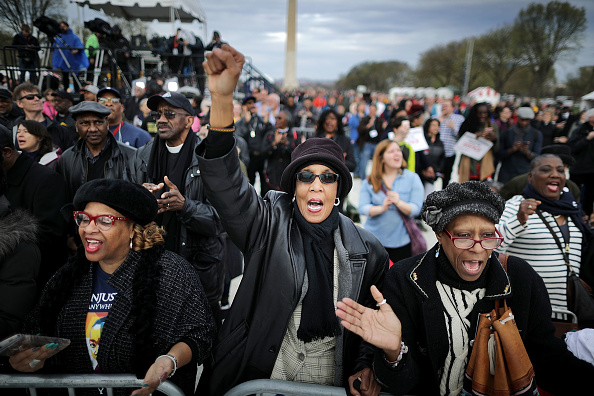 50th Anniversary「Silent Prayer Walk And Rally Marks 50th Anniversary Of Martin Luther King Jr.'s Assassination」:写真・画像(14)[壁紙.com]