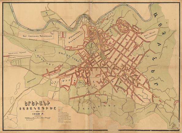 Chromolithograph「Plan Of Yerevan」:写真・画像(4)[壁紙.com]