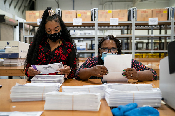2020「Maryland Becomes Earliest State In U.S. To Count Mail-In Ballots」:写真・画像(12)[壁紙.com]