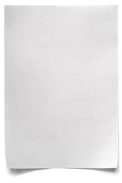 White isolated sheet of blank Paper:スマホ壁紙(壁紙.com)