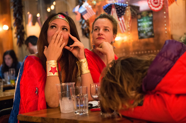 Florida - US State「Democrats Abroad Hold US Election Night Party」:写真・画像(19)[壁紙.com]