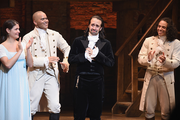 "Chris Jackson「Lin-Manuel Miranda's Final Performance In ""Hamilton"" On Broadway」:写真・画像(14)[壁紙.com]"