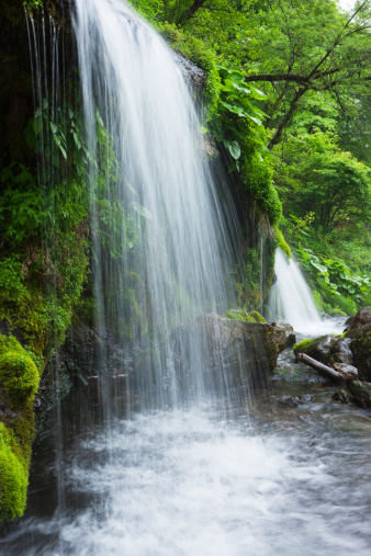 滝「Doryu waterfall, Yamanashi Prefecture, Honshu, Japan」:スマホ壁紙(4)