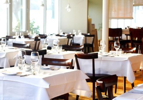 Gourmet「Fine table setting in a restaurant」:スマホ壁紙(16)