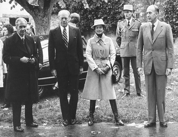 Gerald Ford「Valery Giscard d'Estaing, Aldo Moro And Gerald Ford」:写真・画像(9)[壁紙.com]