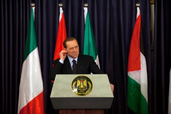 West Bank「Italian PM Belusconi Visits West Bank」:写真・画像(0)[壁紙.com]