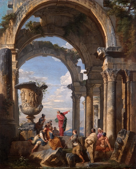 Ancient「St Paul Preaching At Athens,」:写真・画像(7)[壁紙.com]