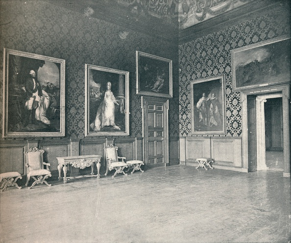 Apartment「'The King's Drawing Room at Kensington Palace', c1899, (1901)」:写真・画像(6)[壁紙.com]