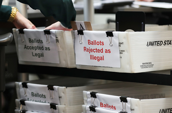 Voting Ballot「Miami Dade County Scans Absentee Ballots For Errors Ahead Of Count」:写真・画像(9)[壁紙.com]
