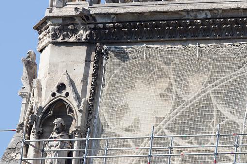 Restoring「Renovation of Notre Dame de Paris, Consolidation」:スマホ壁紙(6)