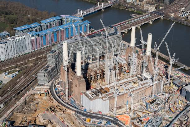 Renovation Of Battersea Power Station As Part Of The Nine Elms Development:ニュース(壁紙.com)