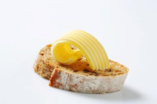 Bread「Slice of bread with butter」:スマホ壁紙(13)
