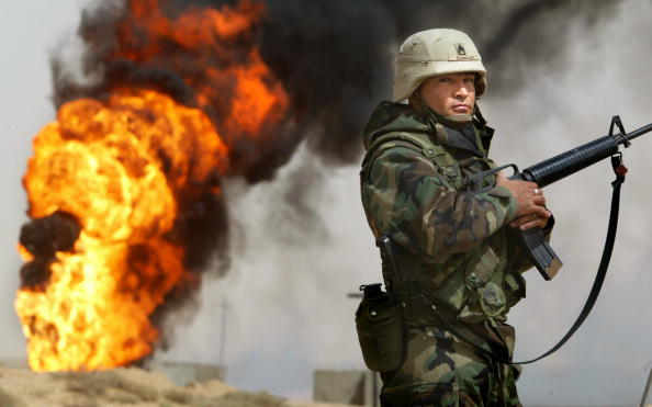 Army Soldier「Oil Fires Burn In Iraq」:写真・画像(14)[壁紙.com]