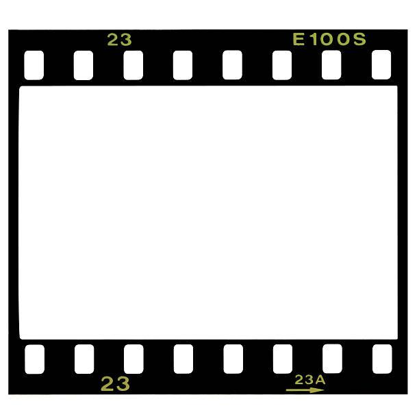 Blank 35mm film frame:スマホ壁紙(壁紙.com)