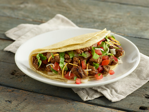 Tortilla - Flatbread「Carne Asada Beef Taco」:スマホ壁紙(11)