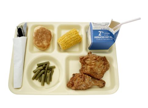 盆「Cafeteria Tray」:スマホ壁紙(10)