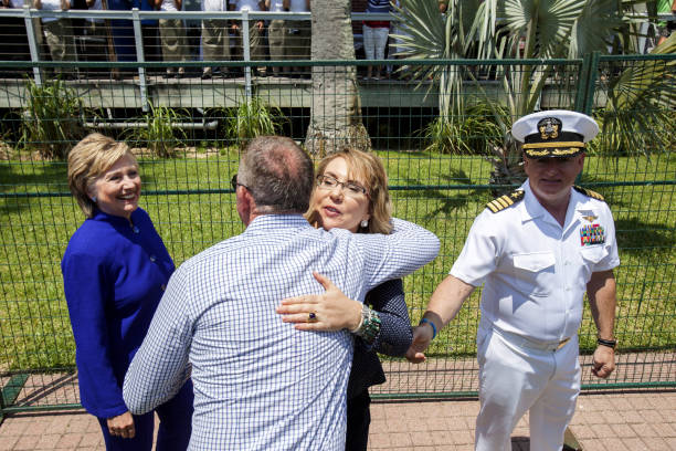 Commissioning Ceremony Held For The USS Gabrielle Giffords:ニュース(壁紙.com)