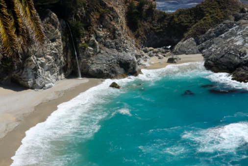 Julia Pfeiffer Burns State Park「Turquoise Water of McMay Cove」:スマホ壁紙(16)
