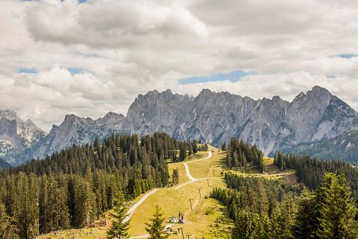 Dachstein Mountains「Austria, Gosau, View to Dachstein Mountains」:スマホ壁紙(6)