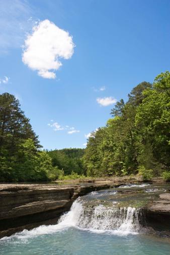 Arkansas「Haw Creek Falls in the Ozark National Forest」:スマホ壁紙(11)