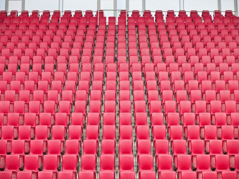 Conformity「Red Seats in Stadium」:スマホ壁紙(14)