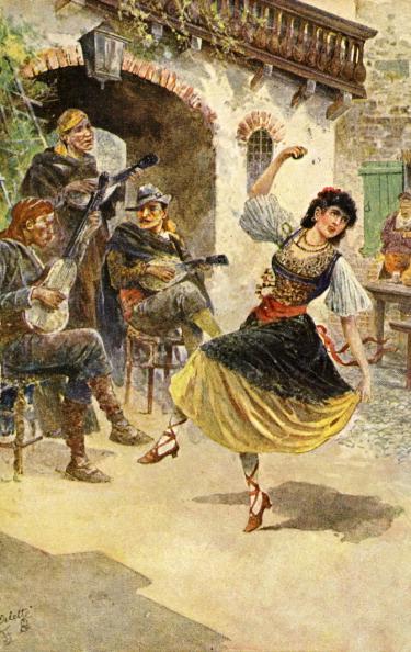 Cultures「Gypsy dancer and musicians」:写真・画像(3)[壁紙.com]