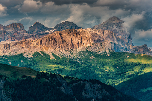 Wilderness Area「Dolomite peaks (South Tyrol, Italy).」:スマホ壁紙(9)