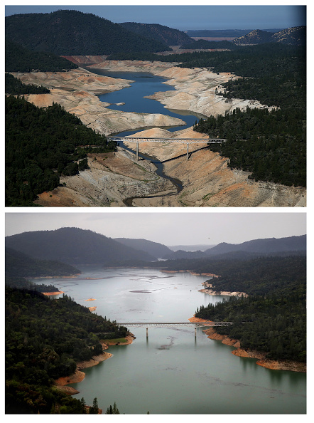 カリフォルニア州「Then And Now: California's Drought Officially Declared To Be Over」:写真・画像(0)[壁紙.com]