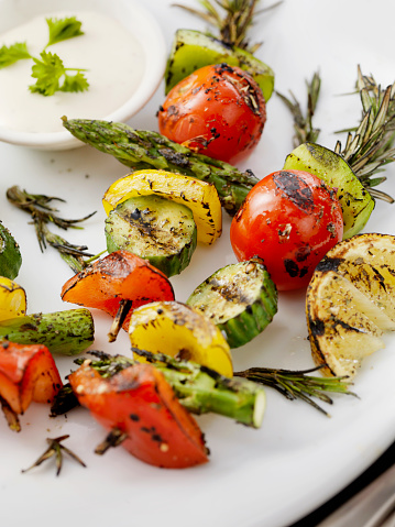 Asparagus「BBQ, Rosemary Vegetable Skewers」:スマホ壁紙(5)
