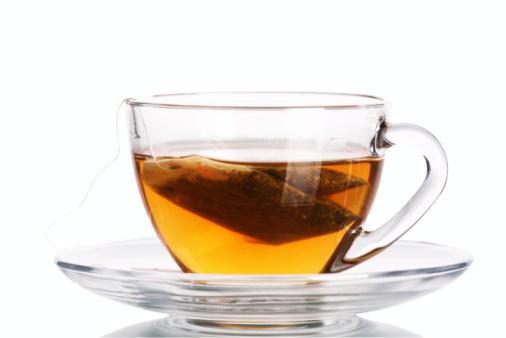 Tea Cup「Clear tea cup with teabag inside」:スマホ壁紙(13)