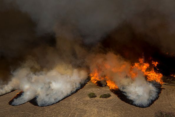 David McNew「Fast-Spreading Hill Fire Forces Evacuations In California's Ventura County」:写真・画像(19)[壁紙.com]