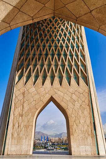 Iranian Culture「Azadi Tower, Tehran, Iran」:スマホ壁紙(5)