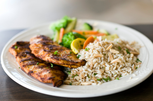 Chicken Meat「Grilled Chicken breast and rice」:スマホ壁紙(5)