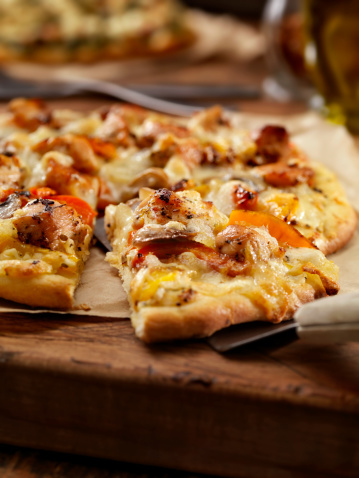 Chicken Meat「Grilled Chicken and Roasted Pepper Pizza」:スマホ壁紙(15)