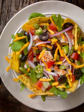 Sour Cream「Grilled Chicken Taco Salad」:スマホ壁紙(11)