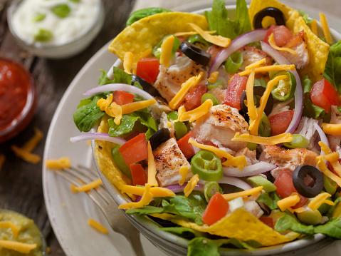 Taco「Grilled Chicken Taco Salad」:スマホ壁紙(3)