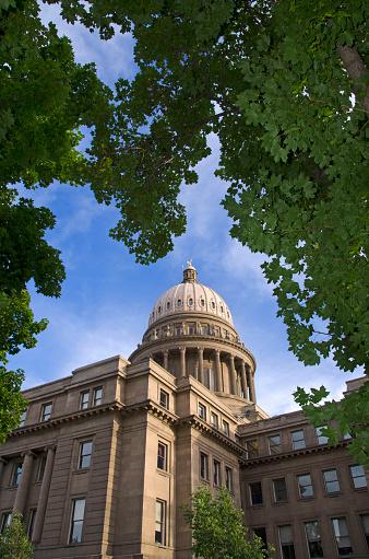 Idaho State Capitol「Boise Idaho Capitol building reflections」:スマホ壁紙(16)