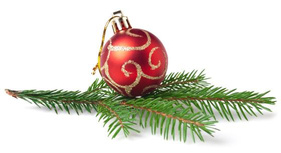 小枝「クリスマスの装飾」:スマホ壁紙(14)