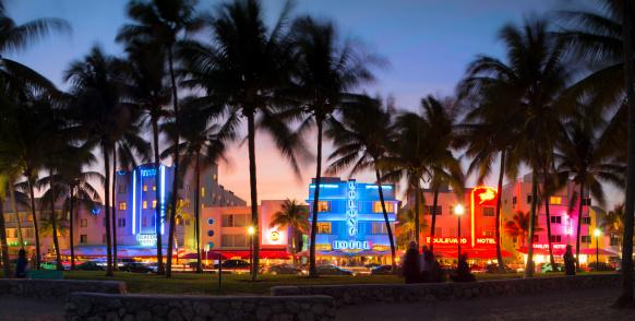 Miami「Hotels at Ocean drive, South Beach, Miami」:スマホ壁紙(18)