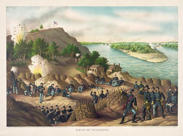 Lithograph「Siege Of Vicksburg--Surrender」:写真・画像(4)[壁紙.com]