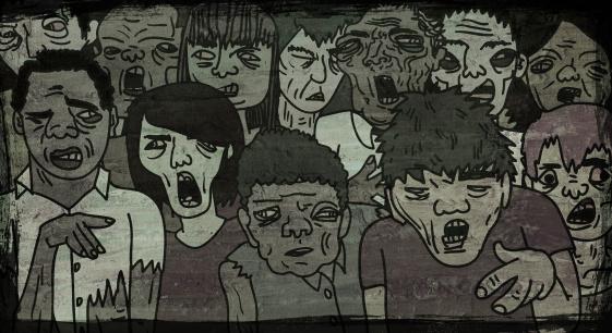 zombie「Zombie Walk」:スマホ壁紙(9)