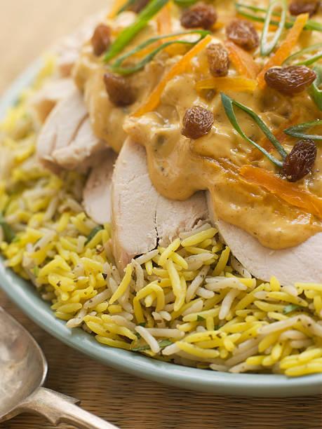 Coronation Chicken and Rice Salad:スマホ壁紙(壁紙.com)