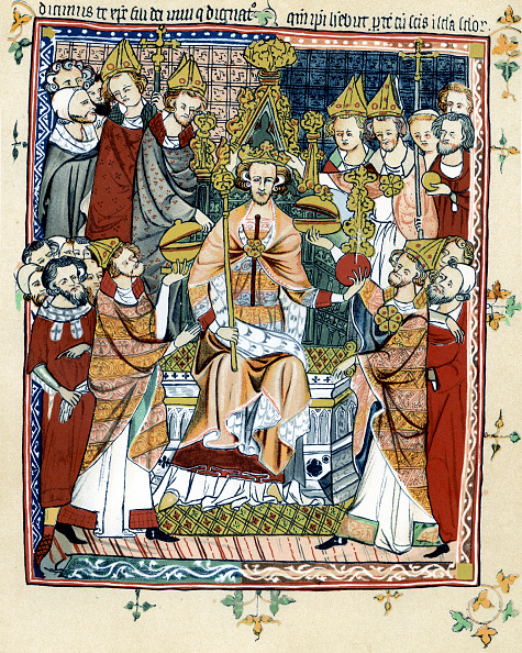 Large Group Of People「Coronation of a medieval king of England」:写真・画像(14)[壁紙.com]