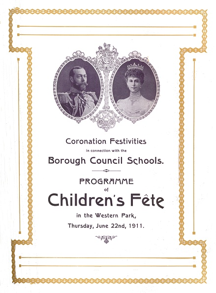 Leicestershire「Coronation Festivities In Connection With The Borough Council Schools, 1911, (1917)」:写真・画像(11)[壁紙.com]