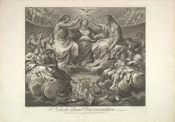 Virgin Mary「Coronation Of The Virgin」:写真・画像(1)[壁紙.com]