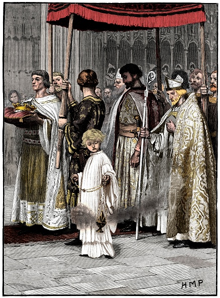 Cushion「Coronation Of Richard I In Westminster Abbey 1189」:写真・画像(3)[壁紙.com]